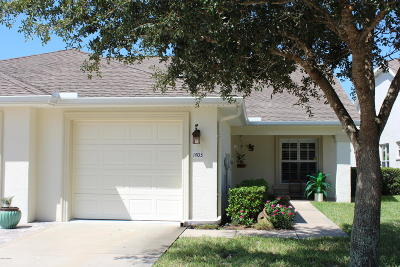 Volusia County Attached For Sale: 1403 Coconut Palm Circle
