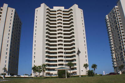 Daytona Beach Shores Condo/Townhouse For Sale: 3315 S Atlantic Avenue #408