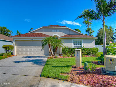 Volusia County Single Family Home For Sale: 465 Dahoon Holly Drive