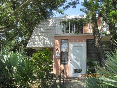 Volusia County Attached For Sale: 4150 S Atlantic Avenue #103A