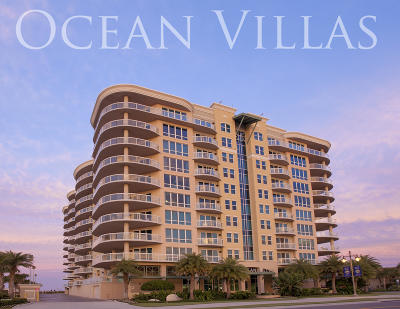 Daytona Beach Condo/Townhouse For Sale: 3703 S Atlantic Avenue #206