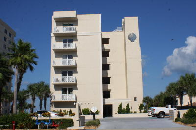 Volusia County Condo/Townhouse For Sale: 3801 S Atlantic Avenue #101