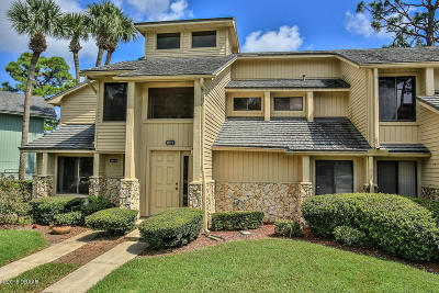 Daytona Beach Condo/Townhouse For Sale: 110 Blue Heron Drive #C