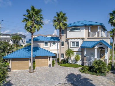 Ponce Inlet Single Family Home For Sale: 2 Mar Azul N.