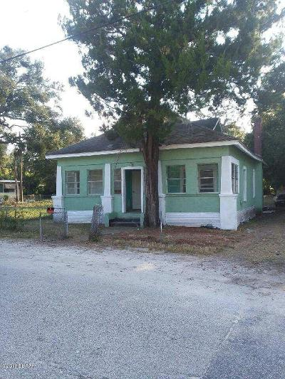 Daytona Beach Single Family Home For Sale: 712 Marion Street