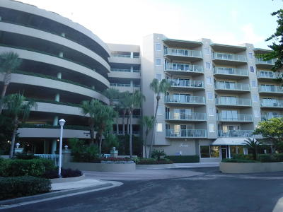 Daytona Beach Shores Condo/Townhouse For Sale: 4 Oceans West #208A