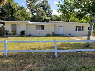 Daytona Beach Single Family Home For Sale: 563 Heineman Street