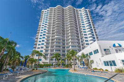 Daytona Beach Condo/Townhouse For Sale: 2 Oceans West Boulevard #1403