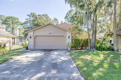 Daytona Beach Single Family Home For Sale: 197 S Gull Drive