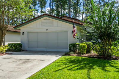 Palm Coast Single Family Home For Sale: 27 Lago Vista Place