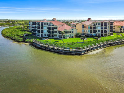 New Smyrna Beach Condo/Townhouse For Sale: 436 Bouchelle Drive #102