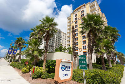 Daytona Beach Shores Condo/Townhouse For Sale: 2071 S Atlantic Avenue #1105