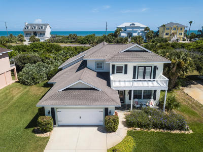 Flagler Beach FL Single Family Home For Sale: $557,900