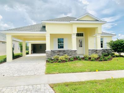Venetian Bay Single Family Home For Sale: 3008 King Palm Dr Lot 124