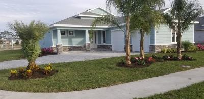 New Smyrna Beach Single Family Home For Sale: 3014 King Palm Dr Lot 127