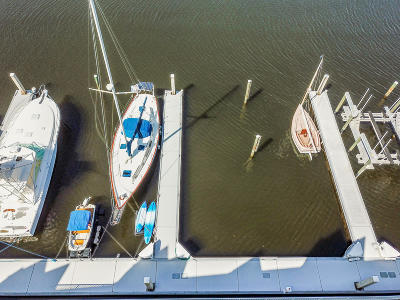 Ponce Inlet Boat Slip For Sale: 4621 Rivers Edge Village Lane #134
