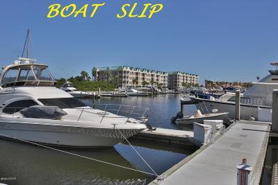 Ponce Inlet Boat Slip For Sale: 4621 N Rivers Edge Village Lane #5