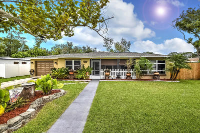 Port Orange Single Family Home For Sale: 306 Jefferson Avenue