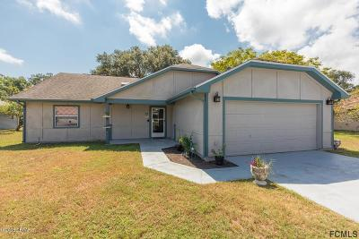 Palm Coast Single Family Home For Sale: 23 Bay Spring Place