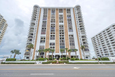 Daytona Beach Shores Condo/Townhouse For Sale: 3003 S Atlantic Avenue #18B3