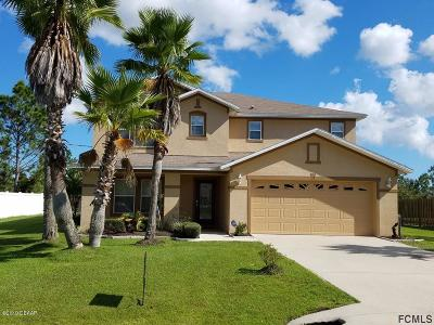 Palm Coast FL Single Family Home For Sale: $259,000