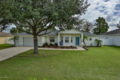 Palm Coast Single Family Home For Sale: 15 Roller Lane