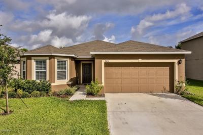 New Smyrna Beach Single Family Home For Sale: 2631 Star Coral Lane