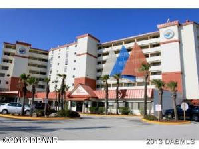 Daytona Beach Shores Condo/Townhouse For Sale: 701 S Atlantic Avenue #506