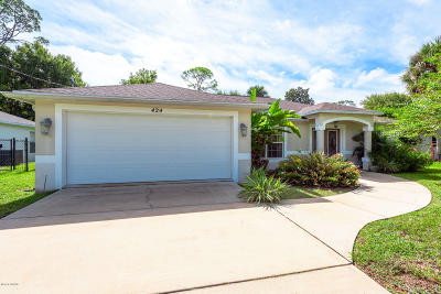 Ormond Beach Single Family Home For Sale: 424 Arroyo Parkway
