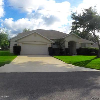 Palm Coast Single Family Home For Sale: 34 Bayside Drive