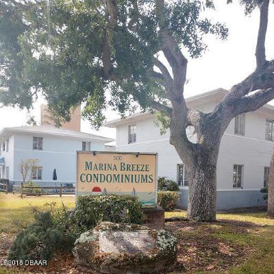 Daytona Beach Condo/Townhouse For Sale: 500 S Beach Street #i-2