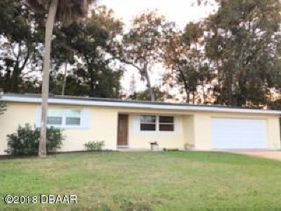 South Daytona Single Family Home For Sale: 2240 Granada Drive