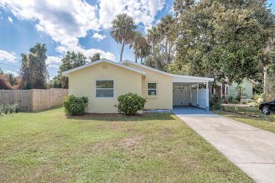 New Smyrna Beach Single Family Home For Sale: 704 Dougherty Street