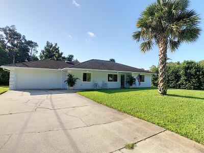 New Smyrna Beach Single Family Home For Sale: 2284 Davis Drive
