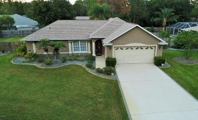 Palm Coast FL Single Family Home For Sale: $277,500