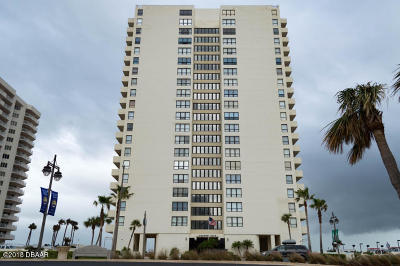 Daytona Beach Shores Condo/Townhouse For Sale: 2987 S Atlantic Avenue #T060