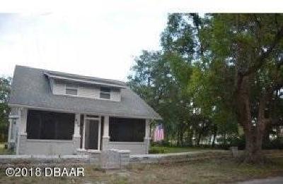Daytona Beach Single Family Home For Sale: 509 N Charles Street