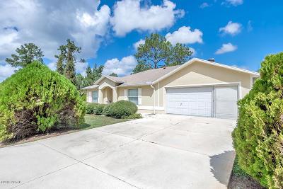 Palm Coast Single Family Home For Sale: 9 Pittman Drive