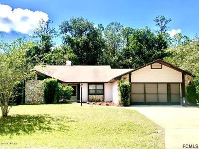 Palm Coast Single Family Home For Sale: 9 Wendy Lane
