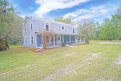 Port Orange Single Family Home For Sale: 2120 Old Daytona Road