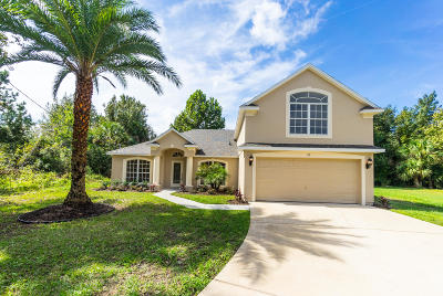Palm Coast FL Single Family Home For Sale: $289,900