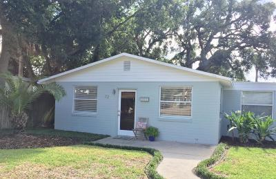 Ormond Beach Single Family Home For Sale: 72 River Drive