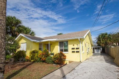 Daytona Beach Multi Family Home For Sale: 517 & 519 Braddock Avenue