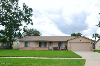 Port Orange Single Family Home For Sale: 1416 N Dexter Drive