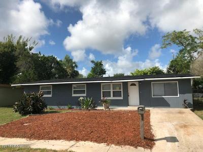 Daytona Beach Single Family Home For Sale: 1222 Essex Road