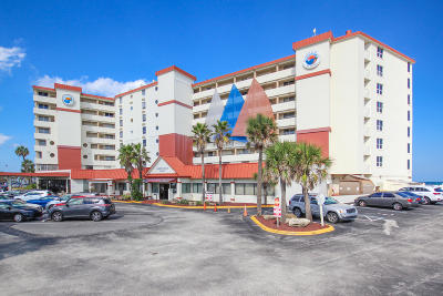 Daytona Beach Condo/Townhouse For Sale: 701 S Atlantic Avenue #517