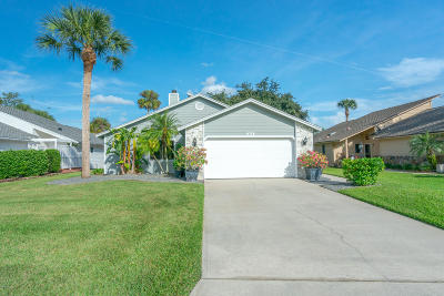 Daytona Beach Single Family Home For Sale: 324 Gull Dr South