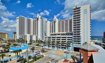 Daytona Beach Condo/Townhouse For Sale: 300 N Atlantic Avenue #1210