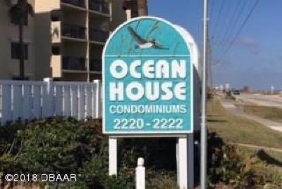 Ormond Beach Condo/Townhouse For Sale: 2220 Ocean Shore Boulevard #107A