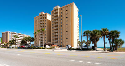 Daytona Beach Shores Condo/Townhouse For Sale: 3145 S Atlantic Avenue #105